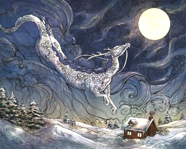 Winter Dragon by Dreoilin - Ashley Stewart2013